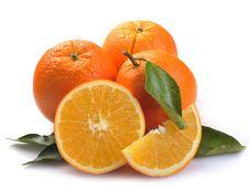 Free Orange With Segments Royalty Free Stock Photo - 17581735