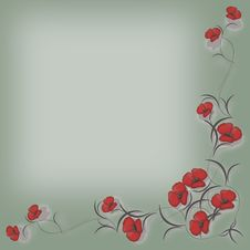 Free Floral Background Frame Stock Photos - 17582023