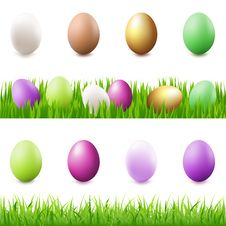 Free Easter Set. Vector Royalty Free Stock Photography - 17582127