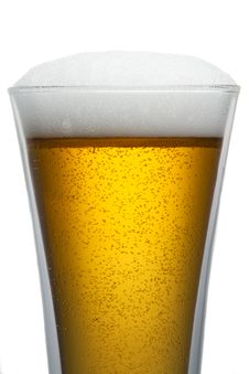 Free Beer Into Glass Royalty Free Stock Images - 17582159