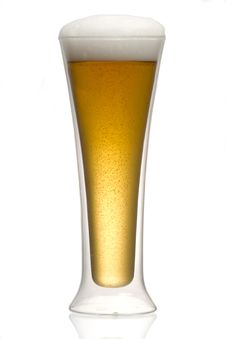 Free Beer Into Glass Stock Photos - 17582163