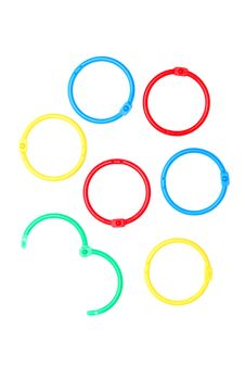 Free Paper Rings Royalty Free Stock Image - 17582986
