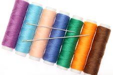 Free Thread And Needle Stock Photo - 17583050