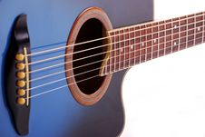 Free Blue Guitar Royalty Free Stock Images - 17583899