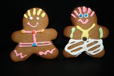Free Ginger Bread Men Royalty Free Stock Images - 17584379
