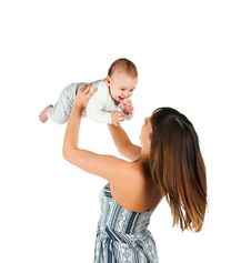 Free Young Women With Her  Baby Stock Image - 17584431