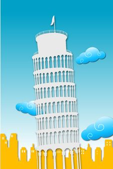 Free Tower Of Pisa Royalty Free Stock Images - 17584569