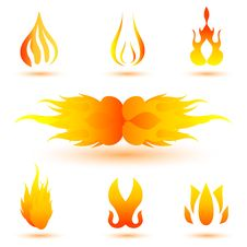 Free Shapes Of Fire Stock Image - 17584681