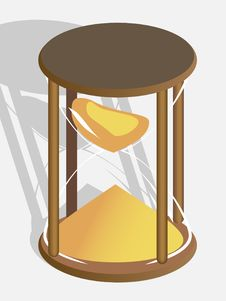Free Hourglass Royalty Free Stock Photos - 17585028