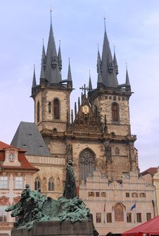 Free Churh Of Our Lady Before Tyn, Prague Royalty Free Stock Photography - 17585187