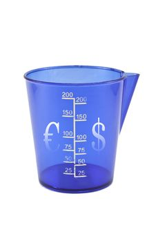 Free Beaker Dollar-euro Stock Photos - 17585263