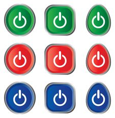 Free Power Icon Stock Photography - 17585372