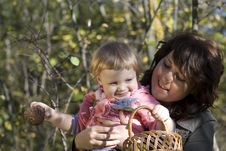Free Mother And The Daughter Stock Images - 17586344