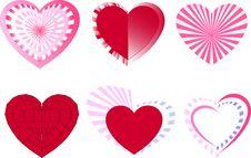 Free Hearts Royalty Free Stock Image - 17587556