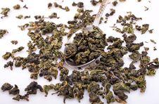 Free Green Oolong Tea Royalty Free Stock Photography - 17587667