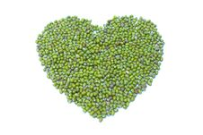 Free Green Heart Royalty Free Stock Images - 17587789