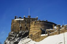 Free Edinburgh Castle Royalty Free Stock Photo - 17588235