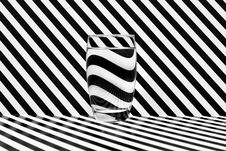Free Reflections In A Glass Of Water Stock Images - 17588254
