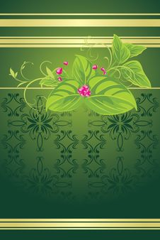 Free Spring Bouquet On The Decorative Background Royalty Free Stock Photo - 17588965