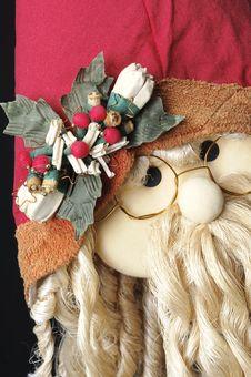 Free Santa Claus Decoration Looking At You Stock Image - 17589971