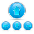Free Arrow Buttons Royalty Free Stock Image - 17595566