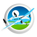 Free Plane In Air Stock Images - 17595594