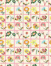 Free Seamless Flower Pattern Royalty Free Stock Photos - 17598578
