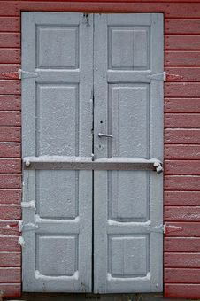 Free Frosted Door Royalty Free Stock Photo - 17590355
