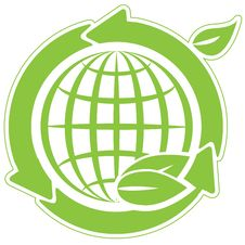 Free Green Globe And Arrow Stock Photos - 17590543