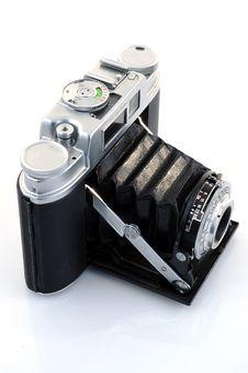 Free Vintage Camera Royalty Free Stock Photography - 17590547