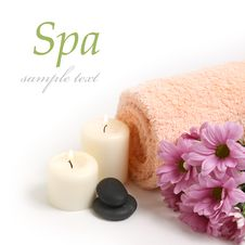 Free Spa Background Royalty Free Stock Photography - 17590677