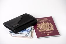 Free Wallet And Passport Stock Image - 17592051