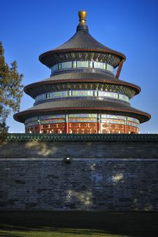 Free Temple Of Heaven ,Beijing,China Royalty Free Stock Images - 17594689