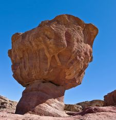 Free Geological Formation In Timna Park, Israel Stock Photography - 17595402
