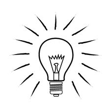 Free Sketchy Bulb Stock Photos - 17595463