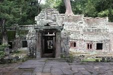 Free Angkor Royalty Free Stock Photography - 17595947