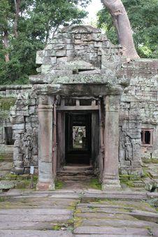 Free Angkor Royalty Free Stock Image - 17595976