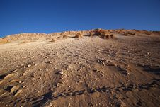 Free Sunset View Of Atacama Desert, Chile Royalty Free Stock Photo - 17596405