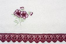 Free Terry White  Flower Background Stock Photo - 17598160
