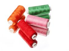 Free Spool Sewing Thread Royalty Free Stock Photo - 17598165