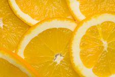 Free Orange Slices Royalty Free Stock Images - 17598729
