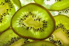 Free Kiwi Slices Stock Photos - 17598763