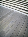 Free Timber And Concrete Steps. Royalty Free Stock Photography - 1761757