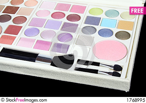 Free Makeup Case Royalty Free Stock Photo - 1768995