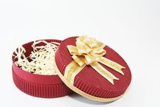 Free Red Celebration Box Stock Photo - 1761610