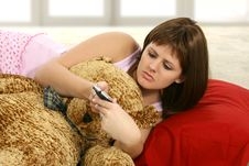 Free Cutie In Pajamas Stock Photography - 1762452