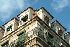 Free Building Against Sky In Lisbon Royalty Free Stock Images - 1762779