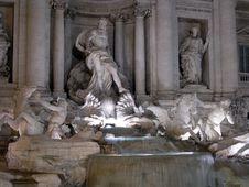 Free Fontana Di Trevi 2 Stock Image - 1763191