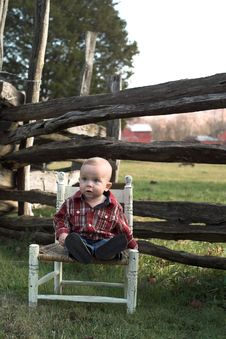 Free Country Boy Stock Image - 1763221