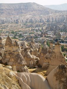 Free Sandstone Formations In Cappadocia Stock Photography - 1763752